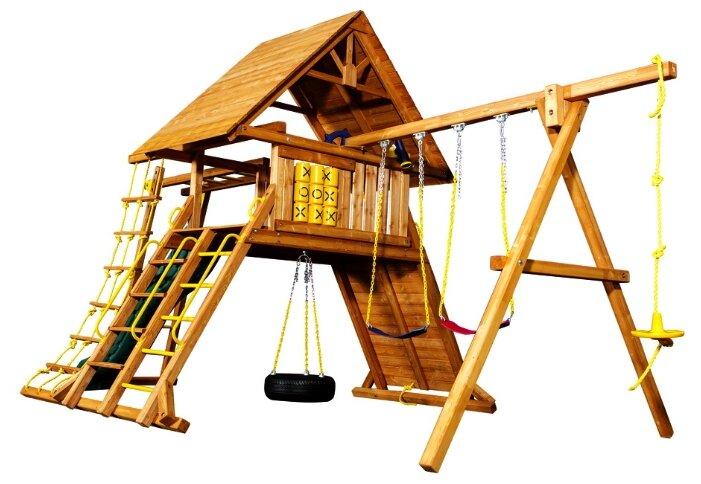 Домик Playgarden Original Castle II с рукоходом