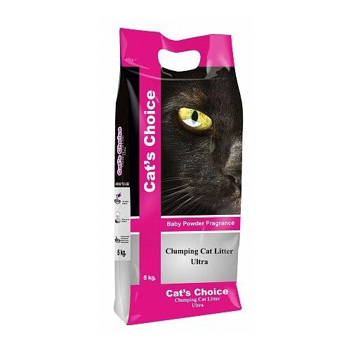 Комкующийся наполнитель Indian Cat Litter Cat's Choice Baby Powder 5 кг