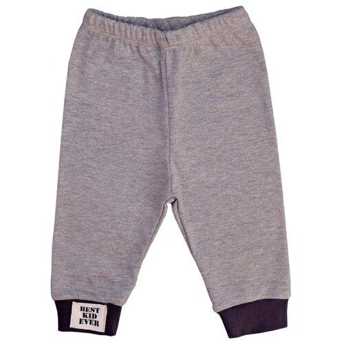 Брюки SafariKids Best kid размер 74, серый меланж брюки akimbo серый 46 размер