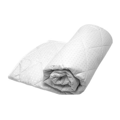 подушка goodnight двухкамерная шёлк искусcтвенный лебяжий пух микрофибра 70х70 Одеяло GoodNight Искусcтвенный лебяжий пух/тик, всесезонное, 172 х 205 см (белый)