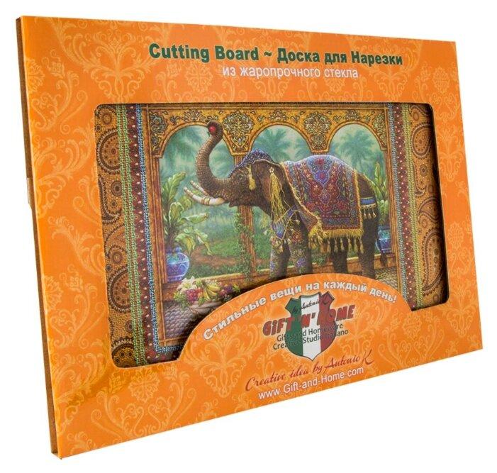 Разделочная доска Gift'n'Home Слон маракеш CB-Marakesh 20х30х0.4 см слон Марракеш