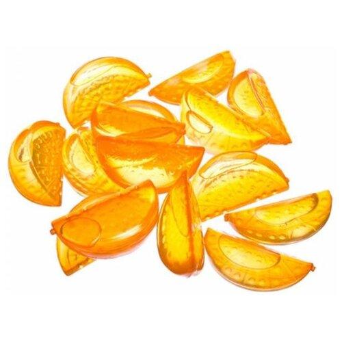 Охладители для напитков Huangyan Wanfeng Plastic Factory Дольки апельсина 15 шт. оранжевый