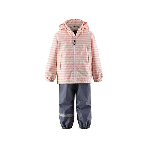 Купить со скидкой Комплект с брюками Lassie размер 98, персиковый/серый