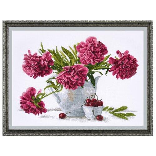 Купить Овен Цветной Вышивка крестом Чайный стиль 39 х 30 см (657), Наборы для вышивания