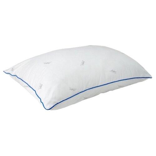 Подушка Мягкий сон Comfort Лебяжий пух 50 х 70 см белый подушка для кормящих smart textile мамина радость с наволочкой наполнитель искуственный лебяжий пух 66 х 34 х 36 см