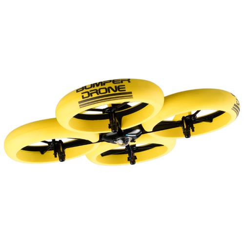 Квадрокоптер Silverlit Bumper Drone HD желтый jjrc h21 six axis drone remote control aerial vehicle drone