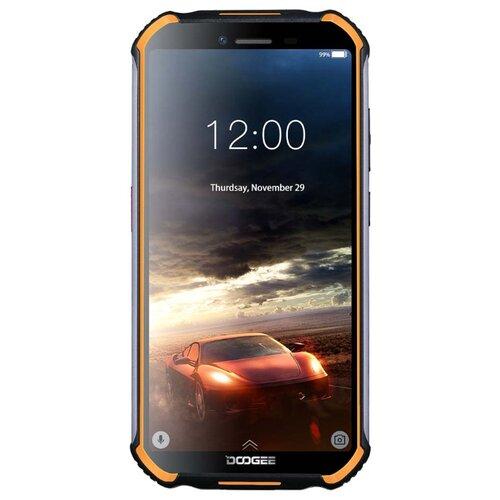 Смартфон DOOGEE S40 Lite черный / оранжевый