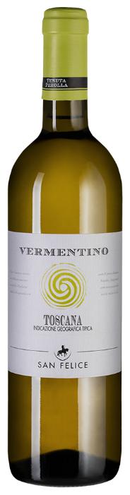 Вино San Felice Vermentino Toscana, 2018, 0.75 л