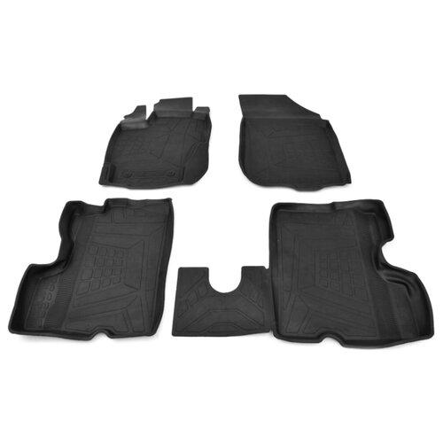 Комплект ковриков AVD Tuning ADRPLR280 Renault Duster 4 шт. черный комплект ковриков avd tuning adrplr016 chevrolet captiva 4 шт черный
