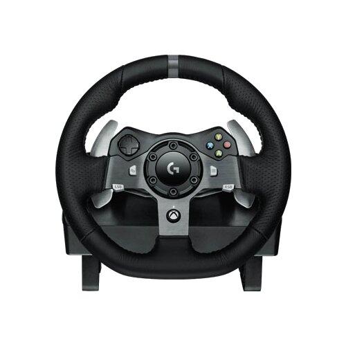 Руль Logitech Driving Force G920 черный руль thrustmaster t150 force feedback 4160628