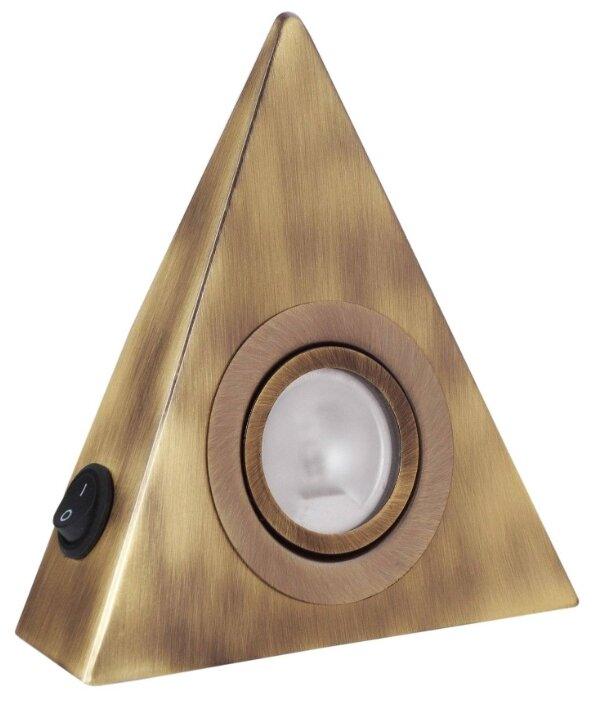 Светильник De Fran для мебели треугольный накладной FT 9251 A sw