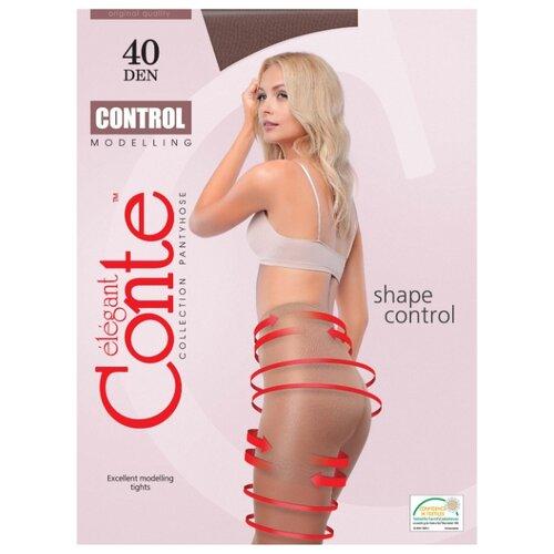 Фото - Колготки Conte Elegant Control 40 den, размер 3, Mocca (коричневый) колготки conte elegant active soft 40 den размер 5 mocca коричневый