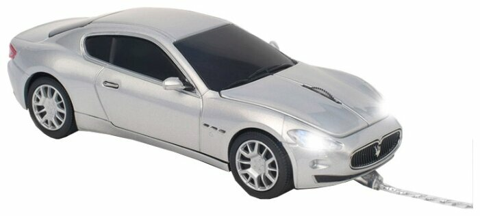 Мышь Click Car Mouse Maserati Granturismo Wired Silver USB