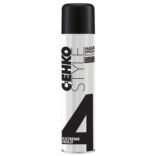 C:EHKO Лак для волос Brilliant, сильная фиксация, 400 млЛаки и спреи<br>
