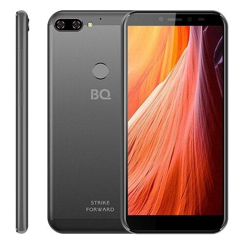 Смартфон BQ 5528L Strike Forward серый смартфон bq bq 5002g fun red