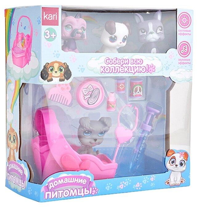 Игровой набор kari Домашние питомцы G780697