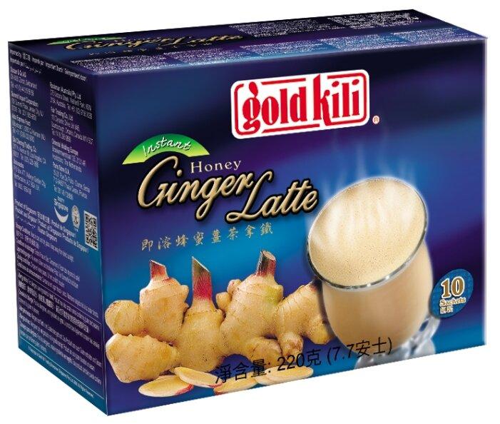 Чайный напиток Gold kili Honey ginger latte растворимый в пакетиках