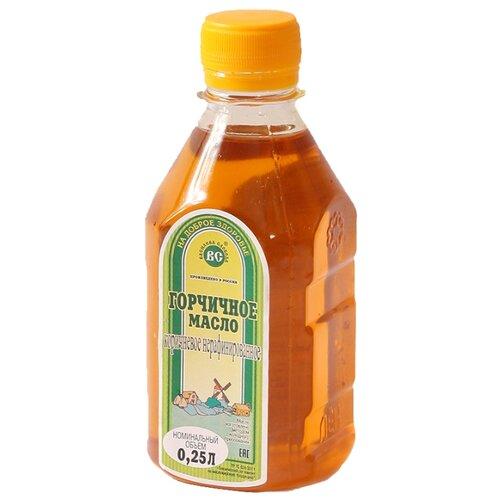 Василева Слобода Масло горчичное нерафинированное, пластиковая бутылка 0.25 л