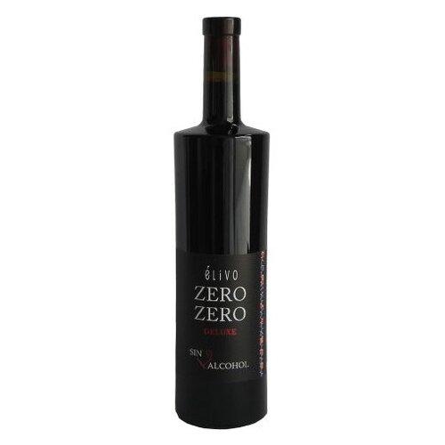 Вино безалкогольное Elivo красное сухое 0.75 л