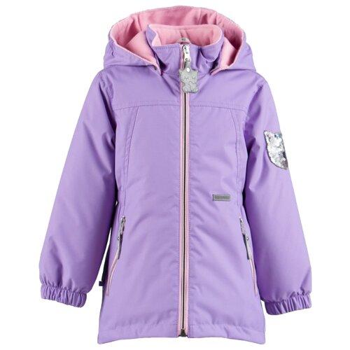 Куртка KERRY Fleur K19026 размер 110, лиловый/сиреневыйКуртки и пуховики<br>