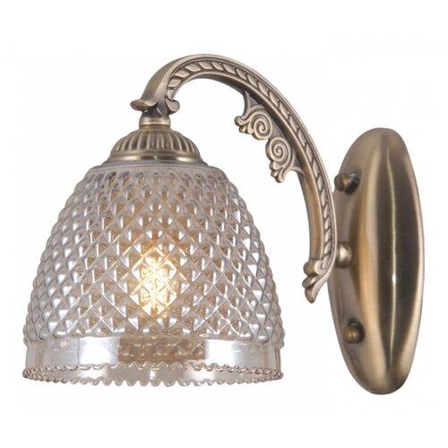 Настенный светильник Natali Kovaltseva 76059/1W Antique, 40 Вт бра natali kovaltseva 10742 1w palisander