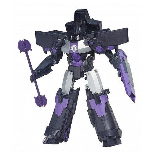 роботы transformers hasbro трансформеры 5 movie уан степ Трансформер Hasbro Transformers Мегатронус. Mega 5-Step (Роботы под прикрытием) B2500 черный/фиолетовый
