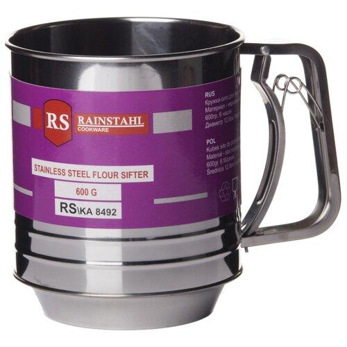 Rainstahl Сито-кружка (8492RS/KA) 600 мл 12.8 см серебристый