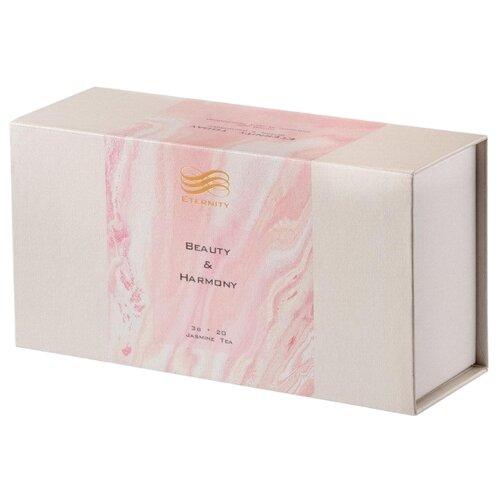 Чай черный Eternity Beauty&Harmony с лепестками жасмина высшего сортав пакетиках, 20 шт.Чай<br>