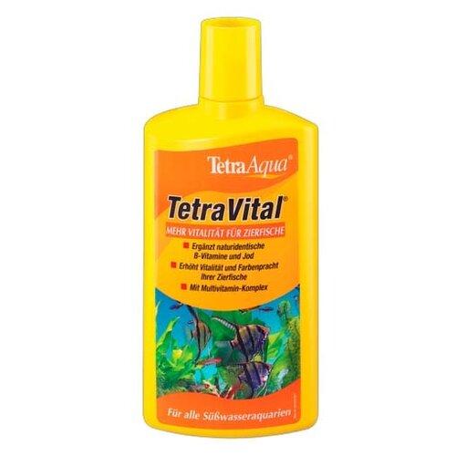Витамины и добавки Tetra кондиционер Vital для создания естественных условий в аквариуме 250 мл