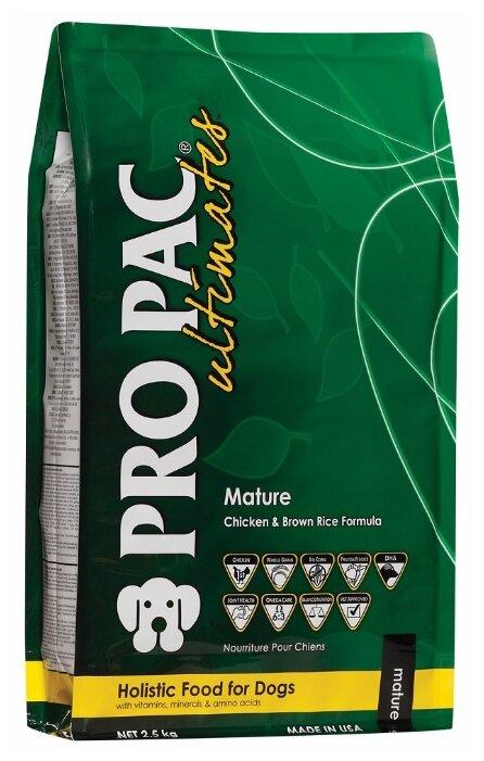 Корм для собак Pro Pac Ultimates Mature Chicken & Brown Rice