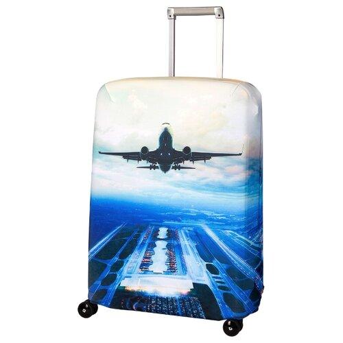 Чехол для чемодана ROUTEMARK Plane SP240 M/L, синий
