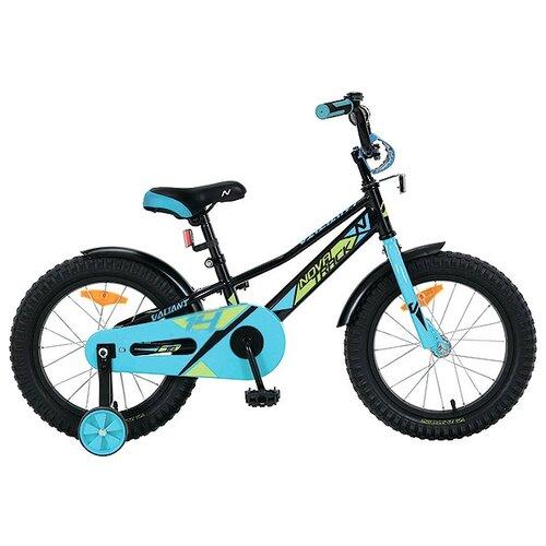 Детский велосипед Novatrack Valiant 14 (2019) черный (требует финальной сборки)