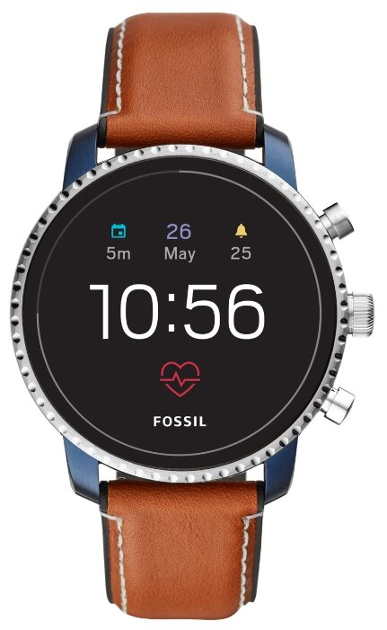 FOSSIL Часы FOSSIL Gen 4 Smartwatch Explorist HR (leather)