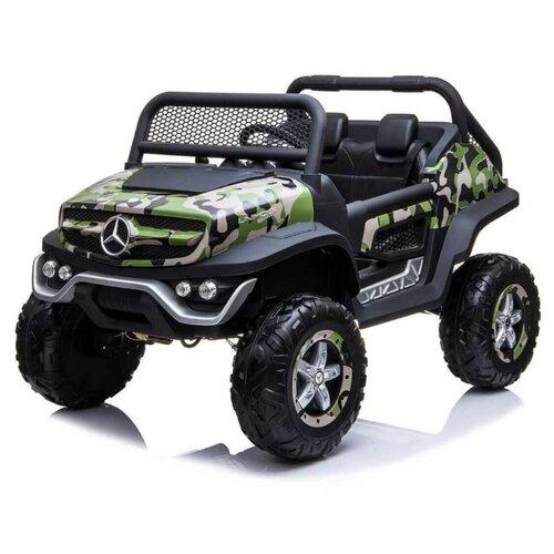 Купить RiverToys Багги Mercedes-Benz Unimog Concept P555BP 4WD, камуфляж, Электромобили