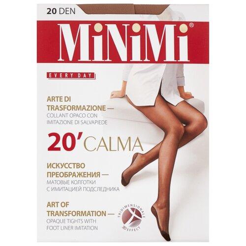 Колготки MiNiMi Calma 20 den, размер 2-S/M, daino (бежевый) колготки minimi avanti 20 den размер 2 s m daino бежевый