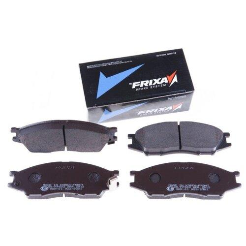 Фото - Дисковые тормозные колодки передние Frixa S1S02 для Nissan Almera Classic (4 шт.) дисковые тормозные колодки передние frixa fpe019 для toyota camry 4 шт