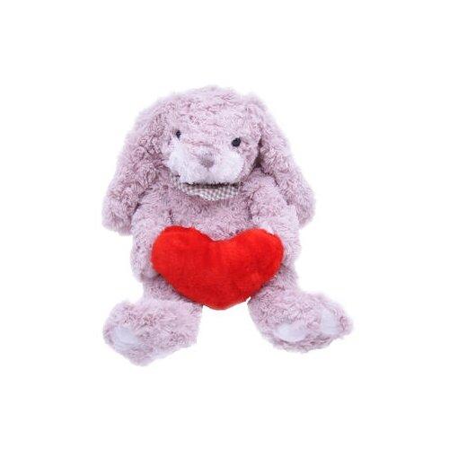 Купить Мягкая игрушка Magic Bear Toys Заяц Барни с сердцем 26 см, Мягкие игрушки