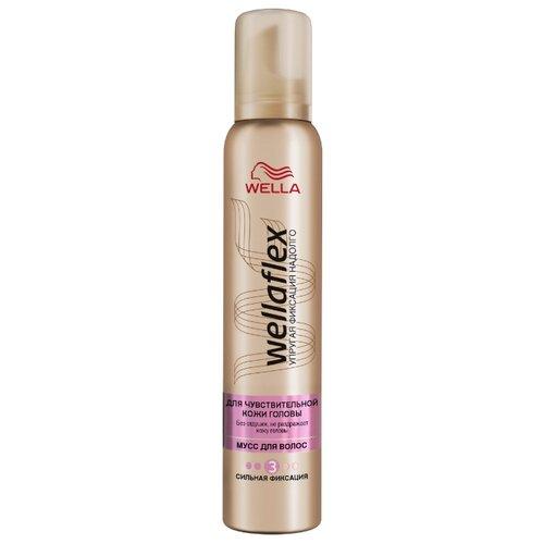 Wella мусс Wellaflex для чувствительной кожи головы, 200 мл