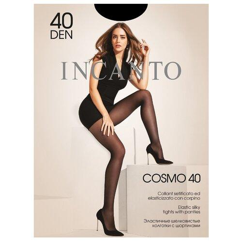 Колготки Incanto Cosmo 40 den, размер 4, nero (черный) колготки incanto poudre 40 den размер 4 nero черный