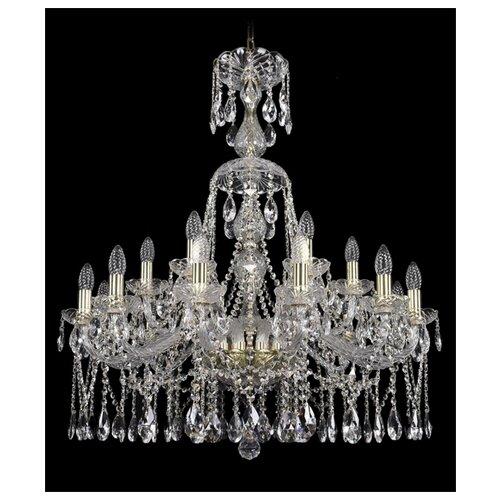 Фото - Люстра Bohemia Ivele Crystal 1413 1413/12+6/300/XL-95/G, E14, 720 Вт люстра bohemia ivele crystal 1413 18 400 g e14 720 вт