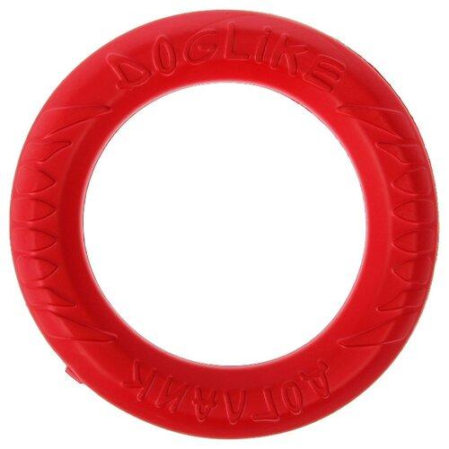 Кольцо для собак Doglike Снаряд Tug&Twist для профессиональной дрессировки малый (D-1276) коралловый