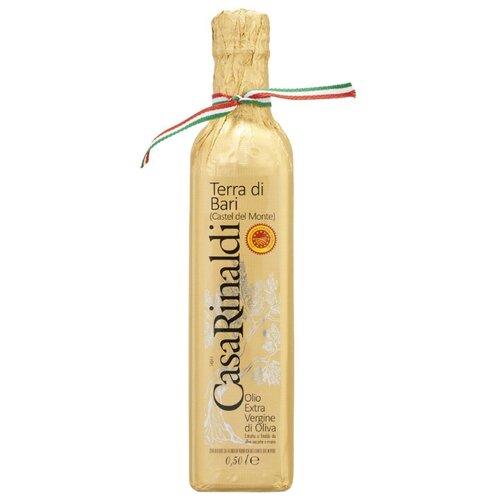 Casa Rinaldi Масло оливковое Extra Virgin Terra di Bari DOP 0.5 л casa rinaldi масло оливковое pomace sansa стеклянная бутылка 1 л
