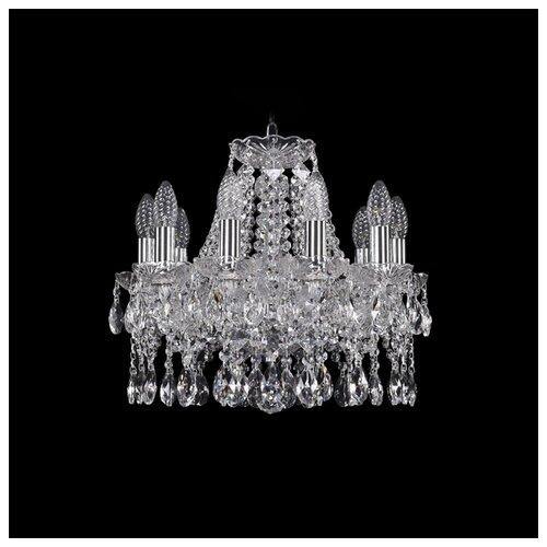 Люстра Bohemia Ivele Crystal 1413 1413/10/141/Ni, E14, 400 Вт люстра bohemia ivele crystal 1413 1413 6 141 g leafs e14 240 вт