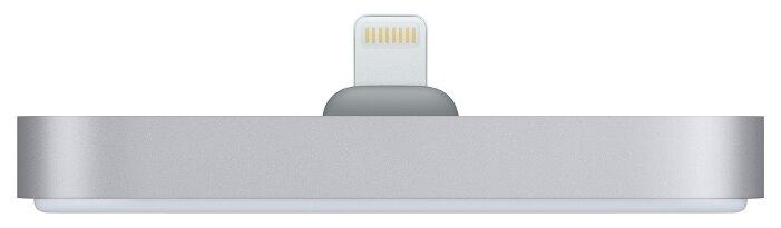 Док-станция для телефона Apple с разъёмом Lightning космический серый