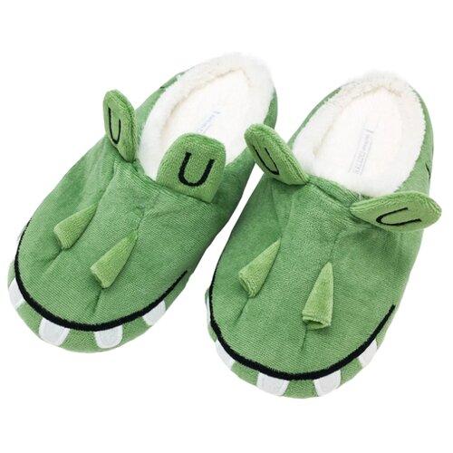 Тапочки Halluci размер 38-39, зеленыйДомашняя обувь<br>