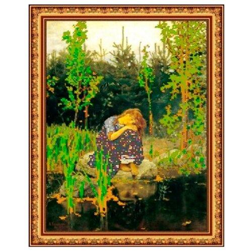 Светлица Набор для вышивания бисером Аленушка 30,7 х 25 см, бисер Чехия (217)