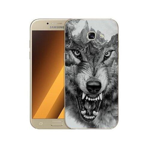 Чехол Gosso 506157 для Samsung Galaxy A5 (2017) волк в горах чехол для samsung galaxy a5 2017 130816