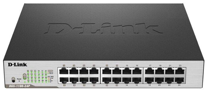 D-link Коммутатор D-link DGS-1100-24P/B