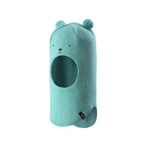 Купить Шапка-шлем Lassie размер 46, голубой, Головные уборы