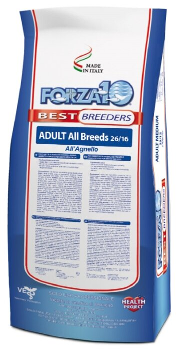 Корм для собак Forza10 ягненок 20 кг